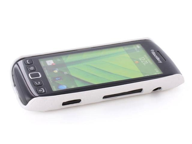 Carbon Back Case Cover voor Blackberry Torch 9860