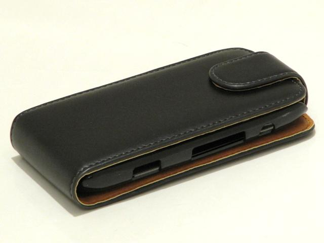 Classic Leather Case voor Blackberry Torch 9860