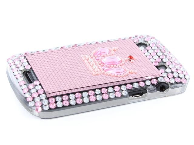 Bling Crown Diamond Case Hoes Blackberry Bold 9900