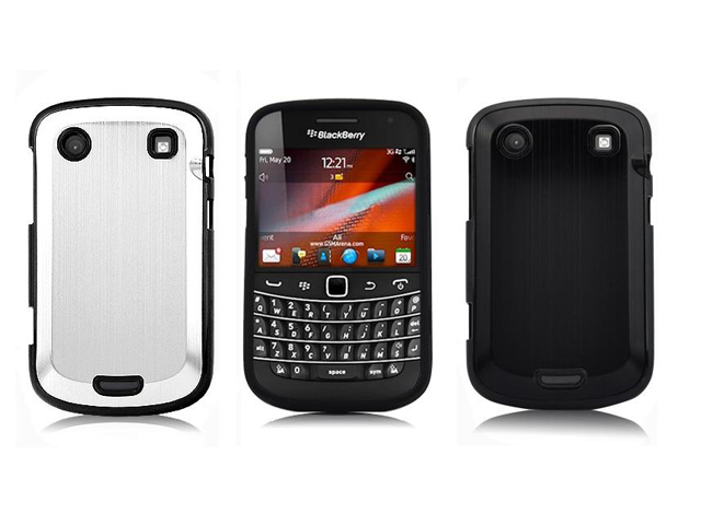 Brushed Aluminium Case Hoes Blackberry Bold 9900