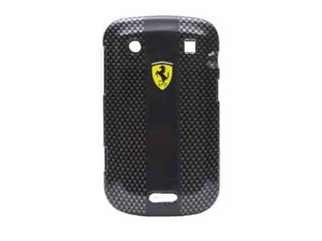 Ferrari Carbon Effect Back Case voor Blackberry Bold 9900