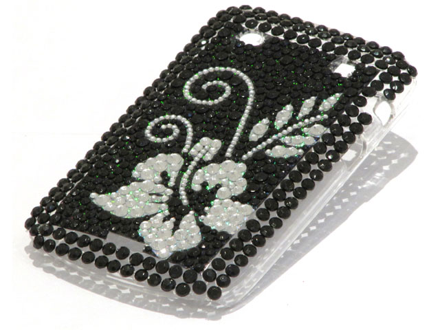 Flower Diamond Case Hoesje voor Blackberry Bold 9900