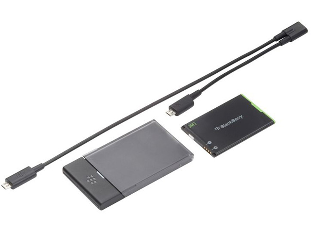 Blackberry J-M1 Charger Bundle: Accu, Lader en Y-Kabel