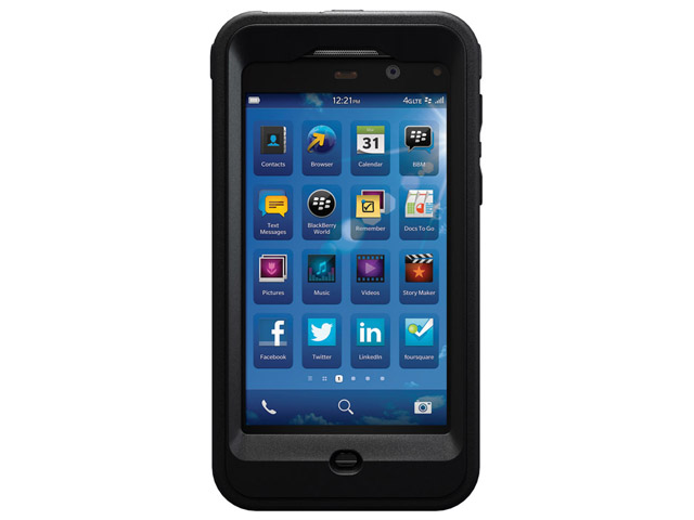 otterbox defender series case voor blackberry z10. Black Bedroom Furniture Sets. Home Design Ideas
