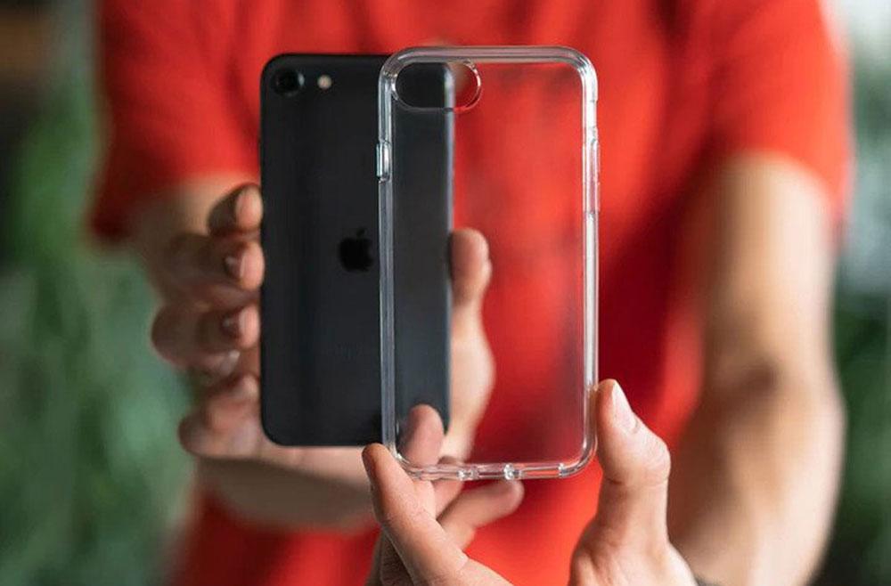 MOUS Clarity Lite hoesje voor iPhone SE 2020
