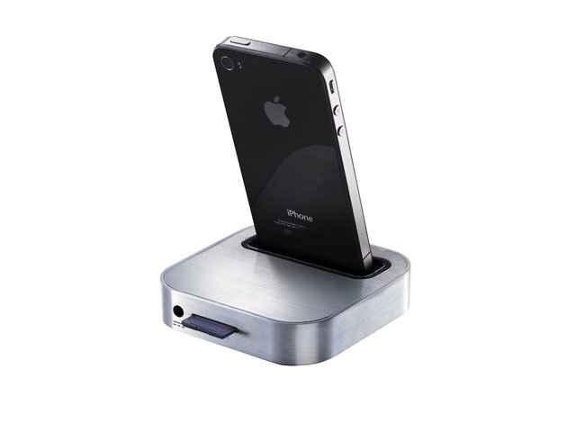 Iomega SuperHero Backup & Charger voor iPhone & iPod touch