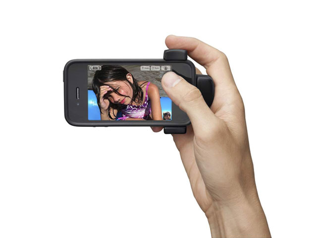 Belkin LiveAction Camera Grip voor iPhone & iPod touch
