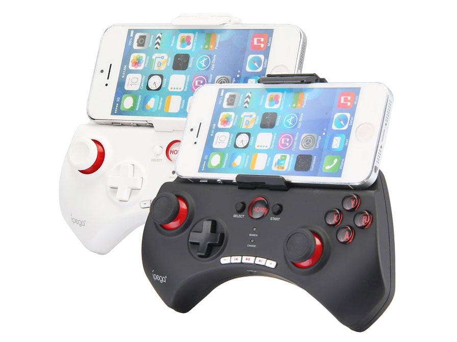 Bluetooth 3.0 Game Pad voor Smartphones (iOS en Android)