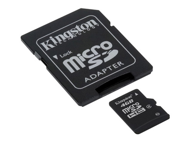 Kingston 4GB Micro-SD Geheugenkaart (Class 4)