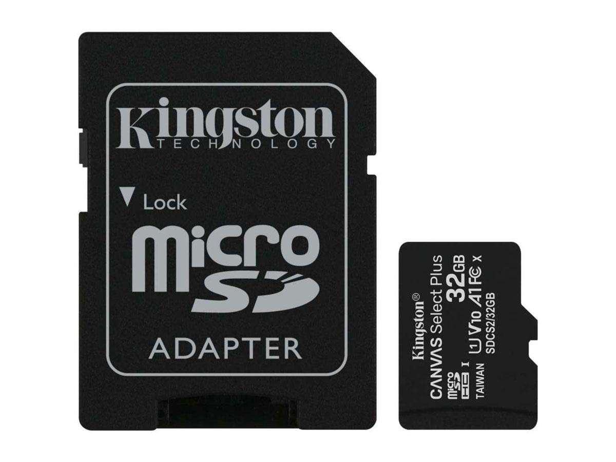 Kingston 32GB Micro-SD Geheugenkaart - Class 10 UHS-I