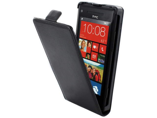 Dolce Vita Flip Line Kunstleren Case voor HTC Windows Phone 8X