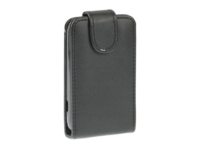 Business Leather Flip Case voor HTC Desire C