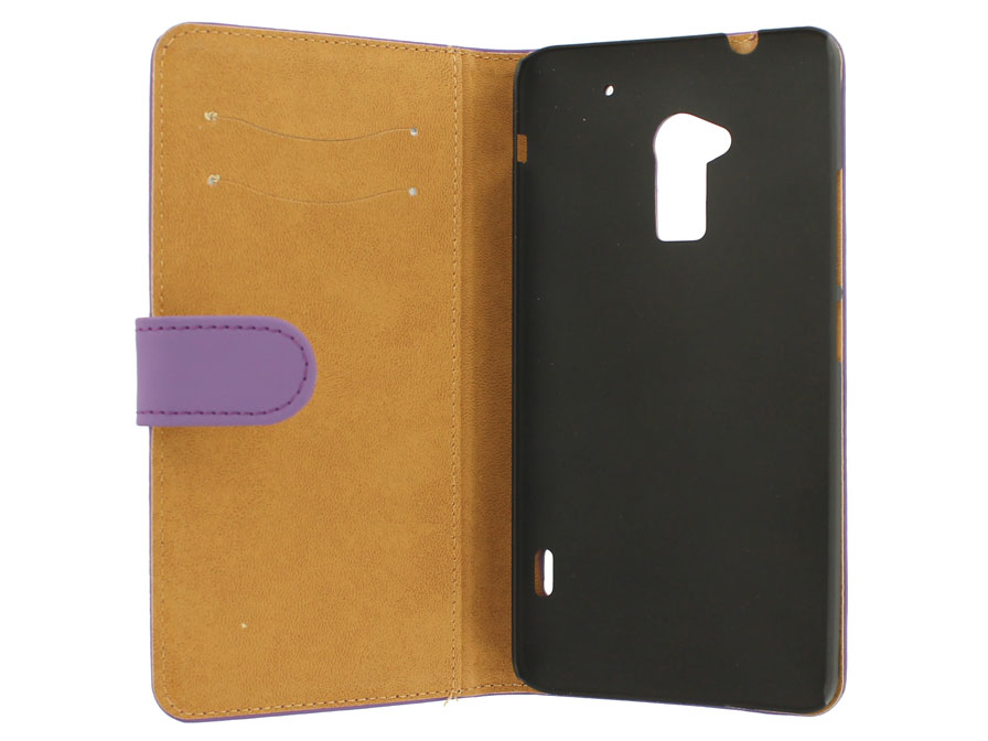 Classic Book Case Hoesje voor HTC One Max