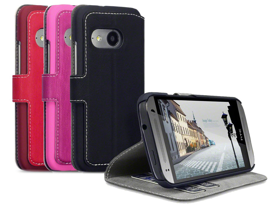 Covert UltraSlim Book Case - Hoesje voor HTC One Mini 2