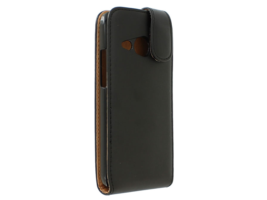 Classic Leather Flip Case - HTC One Mini 2 hoesje