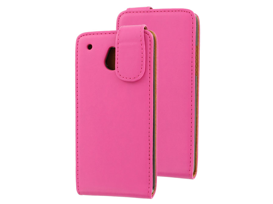 Classic Leather Case voor HTC One Mini