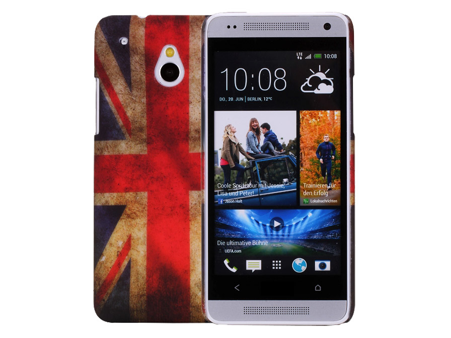 Great Brittain Vintage Flag Case voor HTC One Mini