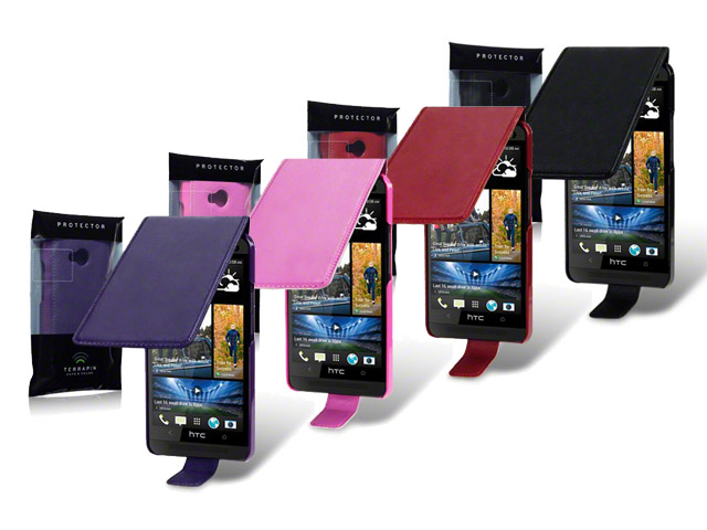 CaseBoutique UltraSlim Topflip Case Hoesje voor HTC One (M7)