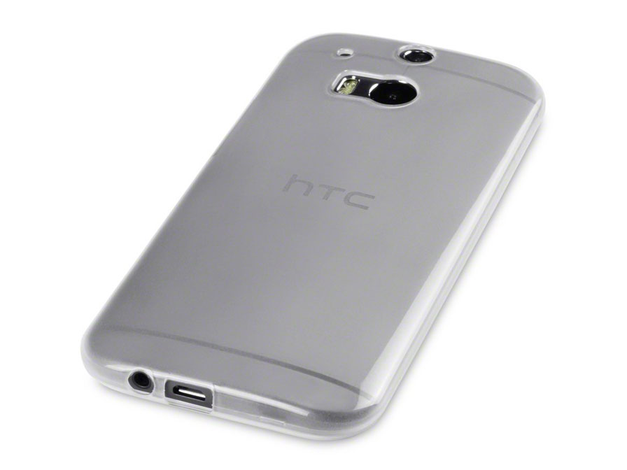 CaseBoutique TPU Soft Case - Hoesje voor HTC One M8