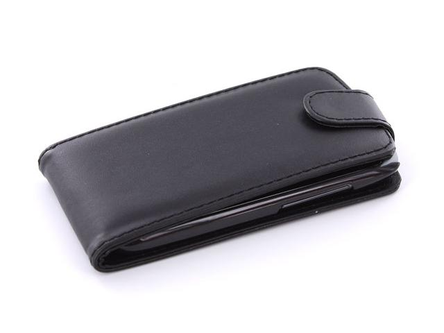 Business Leather Flip Case voor HTC One S