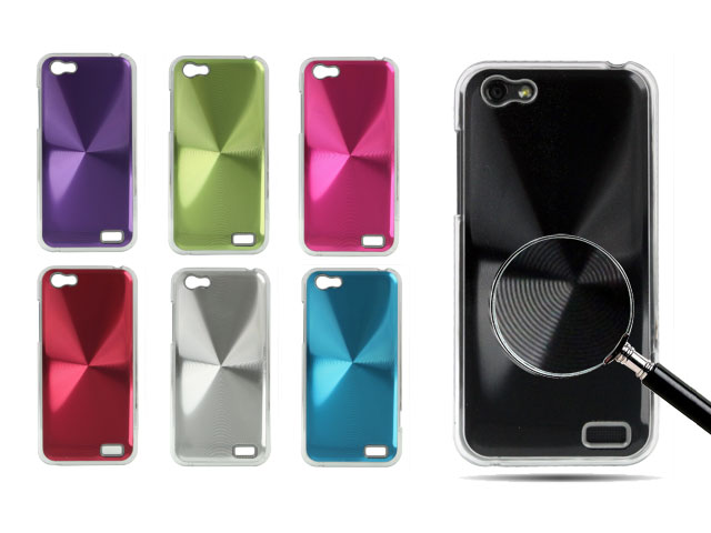 Disc Series Aluminium Case Hoes voor HTC One V