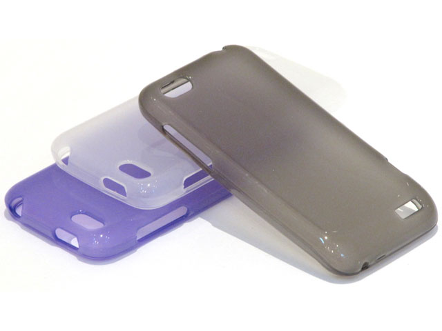 Frosted TPU Case Hoesje voor HTC One V