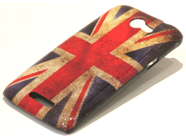 Great Brittain Vintage Flag Case voor HTC One X