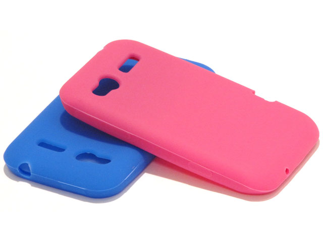 Color Series Silicone Skin Case Hoes voor HTC Radar