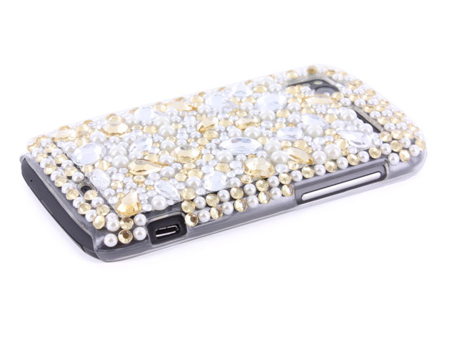Big Shiny Diamond Back Case voor HTC Sensation (XE)