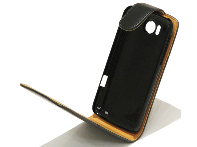 Classic Leather Case voor HTC Sensation XL