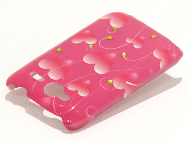 Crystals Sweethearts Case voor HTC Wildfire S