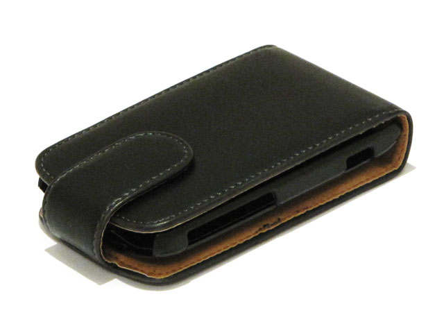 Classic Leather Case voor HTC Wildfire S