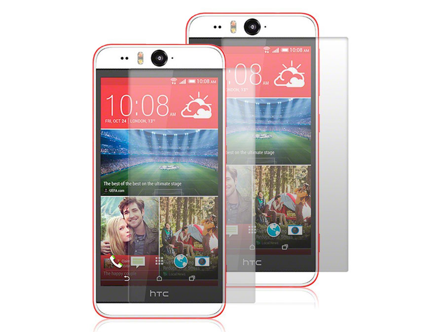Clear Screenprotector voor HTC Desire Eye (2-pack)