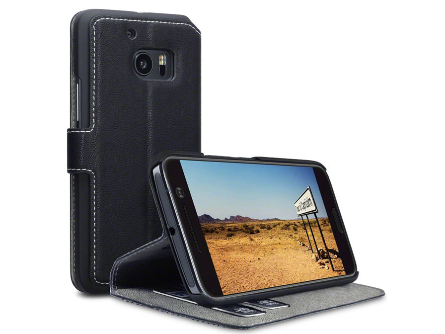Covert Ultraslim Bookcase - HTC 10 hoesje