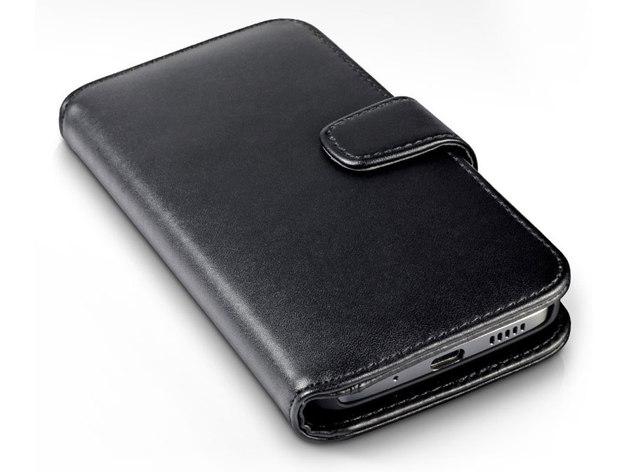 CaseBoutique Leather Bookcase - HTC 10 hoesje
