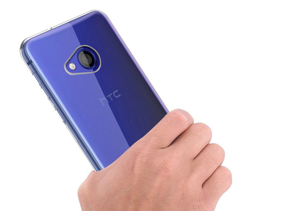 Transparante TPU Case - HTC U Play hoesje