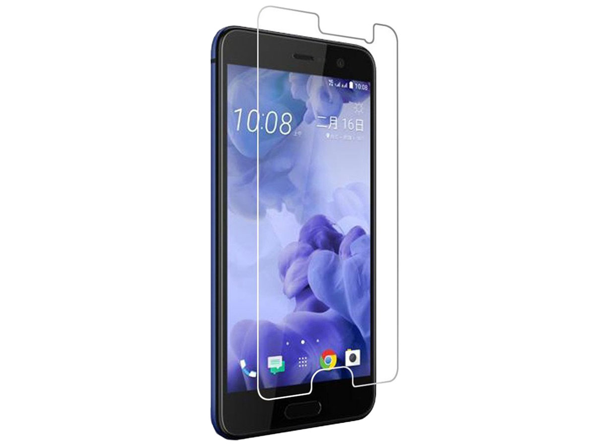 HTC U Play Screenprotector Tempered Glass