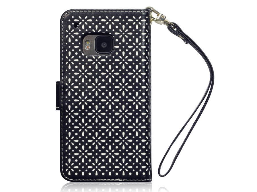 CaseBoutique Gracey Wallet Case - HTC One M9 Hoesje