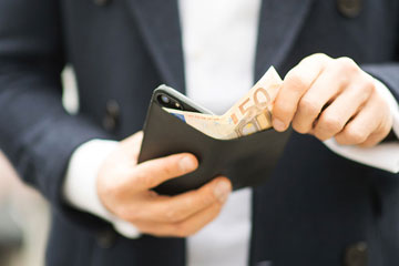 Artwizz Wallet Case - Leren iPhone 7 hoesje