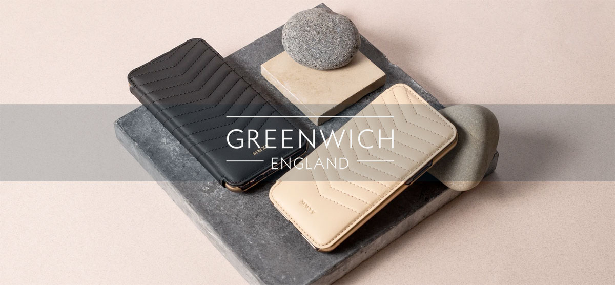 Exclusieve Greenwich iPhone cases