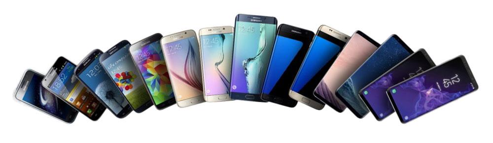 Telefoonhoesjes voor Samsung smartphones