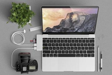 Satechi USB-C Adapters voor MacBook