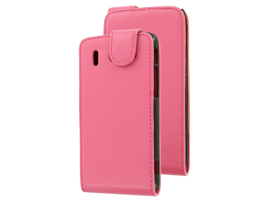 Classic Leather Case voor Huawei Ascend G510