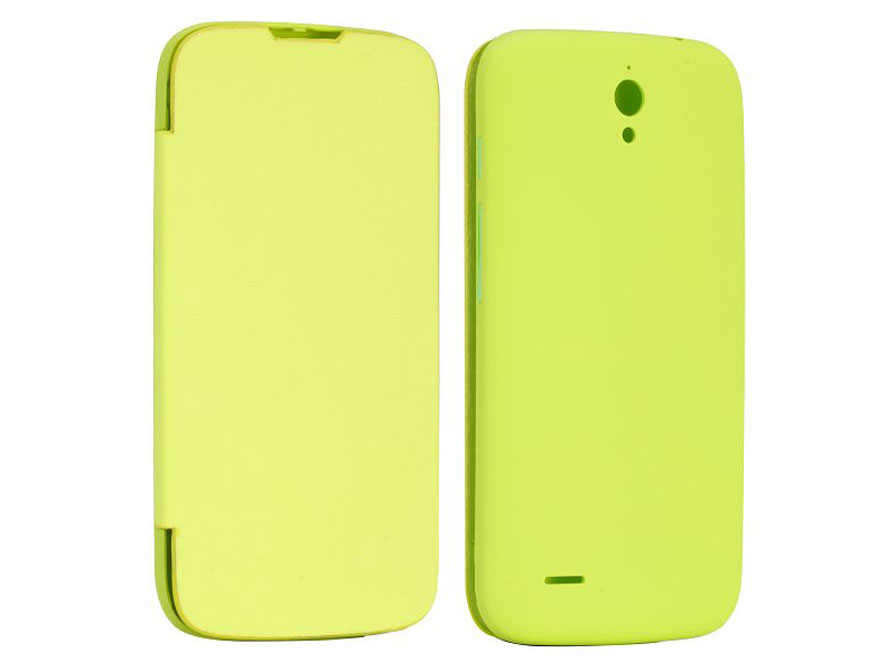 Battery Cover Flip Case Hoesje voor Huawei Ascend G610