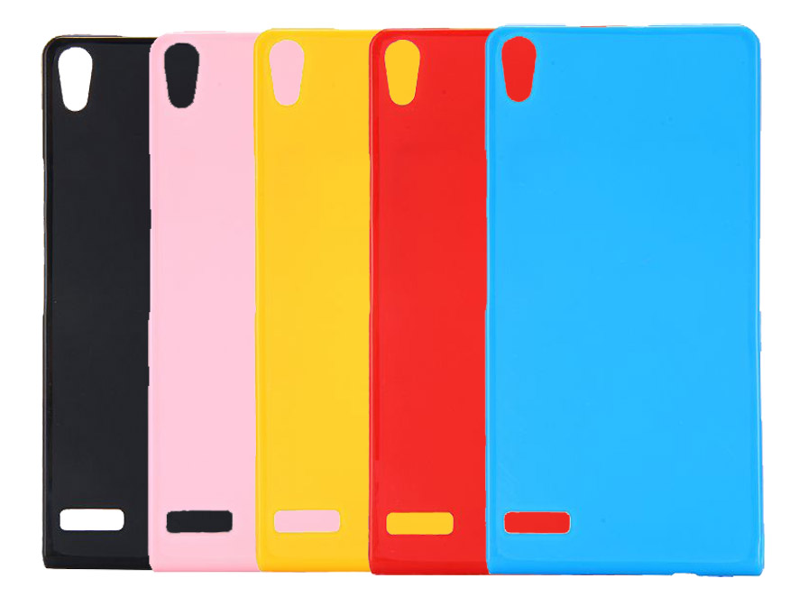Color Series TPU Skin Case - Huawei Ascend P6 Hoesje