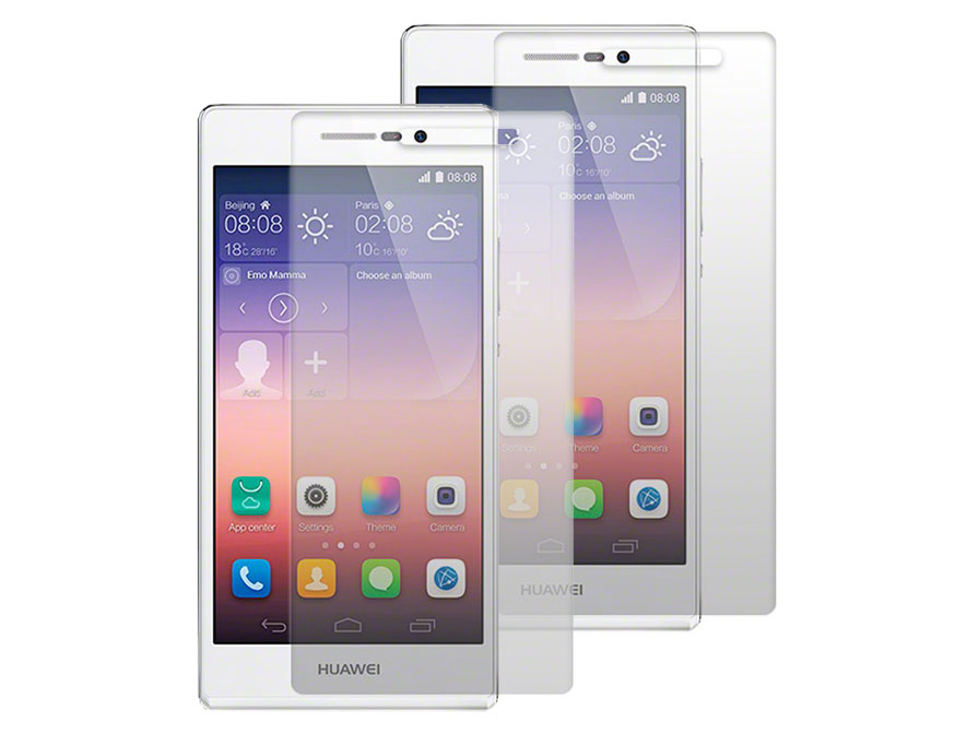 Clear Screenprotector voor Huawei Ascend P7 (2-pack)