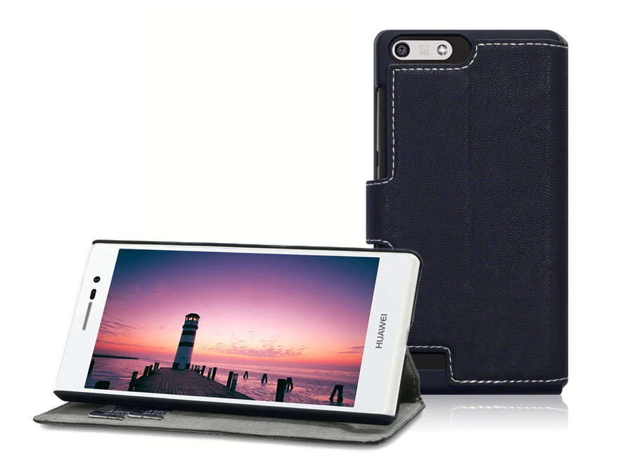 Covert UltraSlim Book Case - Hoesje voor Huawei Ascend P7 Mini