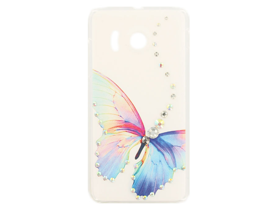 Butterfly Diamond Case Hoesje voor Huawei Ascend Y300