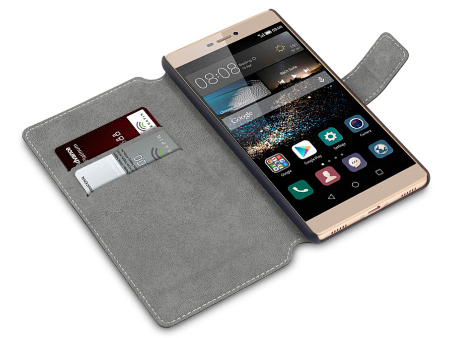 Covert UltraSlim Book Case - Hoesje voor Huawei Ascend P8