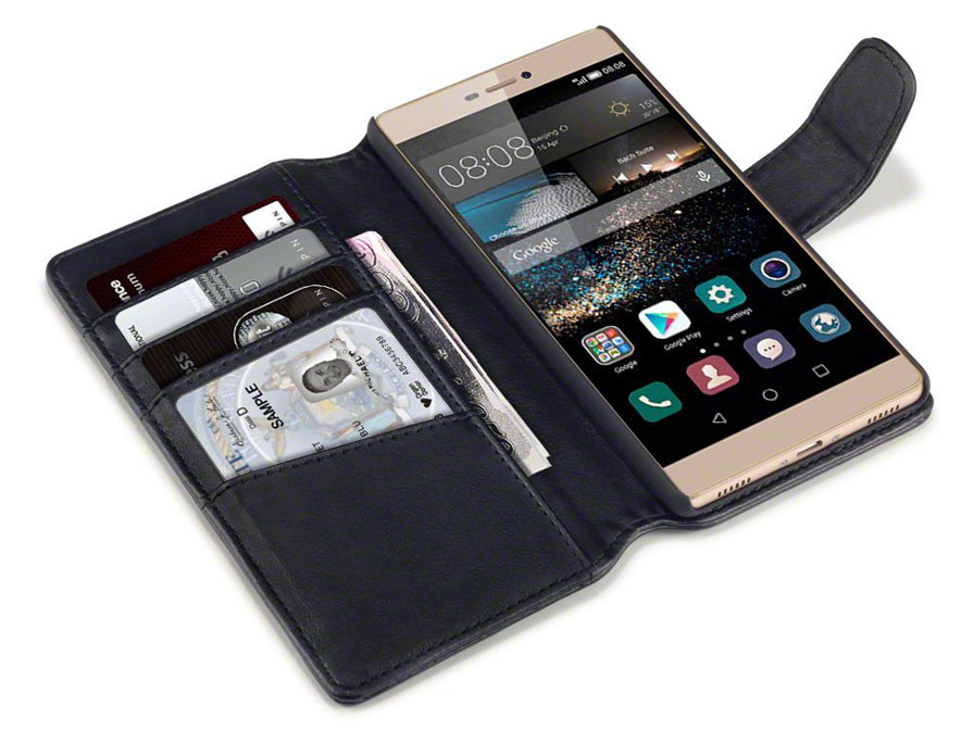 CaseBoutique Leather Wallet Case - Huawei Ascend P8 hoesje